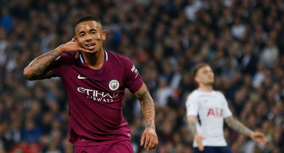 Manchester City sumó 87 unidades como líder absoluto de la Premier League, mientras que, Tottenham conserva 70 puntos en la tercera posición de la clasificación. (AFP)