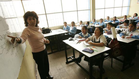 El ministro de Educación señaló que ahora existe la posibilidad de matricular a un niño o niña que cumple años hasta el 31 de marzo.(Foto: Andina)
