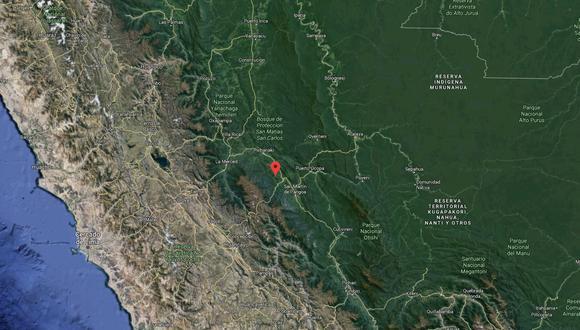 El sismo ocurrió a una profundidad de 15 km., reportó el IGP. (Captura: GEC)