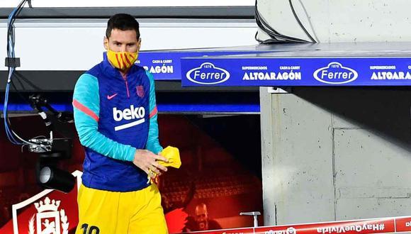 Lionel Messi recibió dos fechas de sanción. (Foto: AFP)