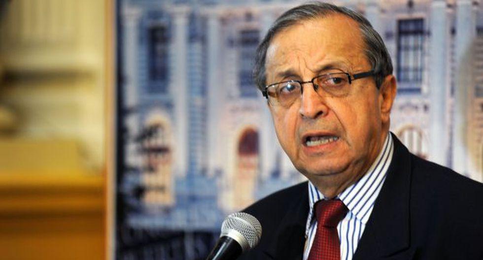 Daniel Mora deseó el mayor de los éxitos a sus excolegas partidarios en el Legislativo. (Foto: Congreso)