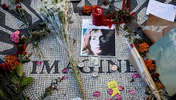 Homenaje a John Lennon al cumplirse, en octubre pasado, 80 años de su nacimiento. Foto: Agencia REUTERS