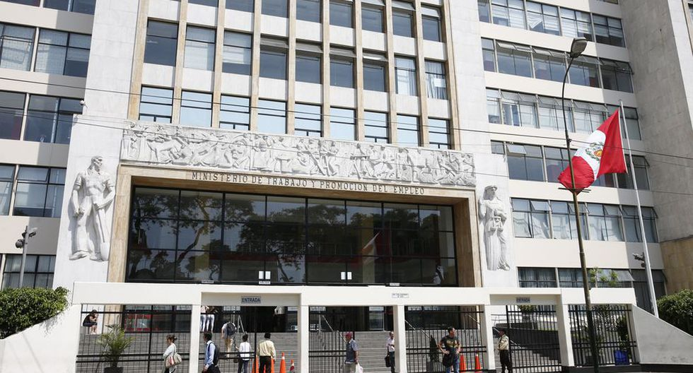 El Ministerio de Trabajo y Promoción del Empleo (MTPE). (Foto: GEC)