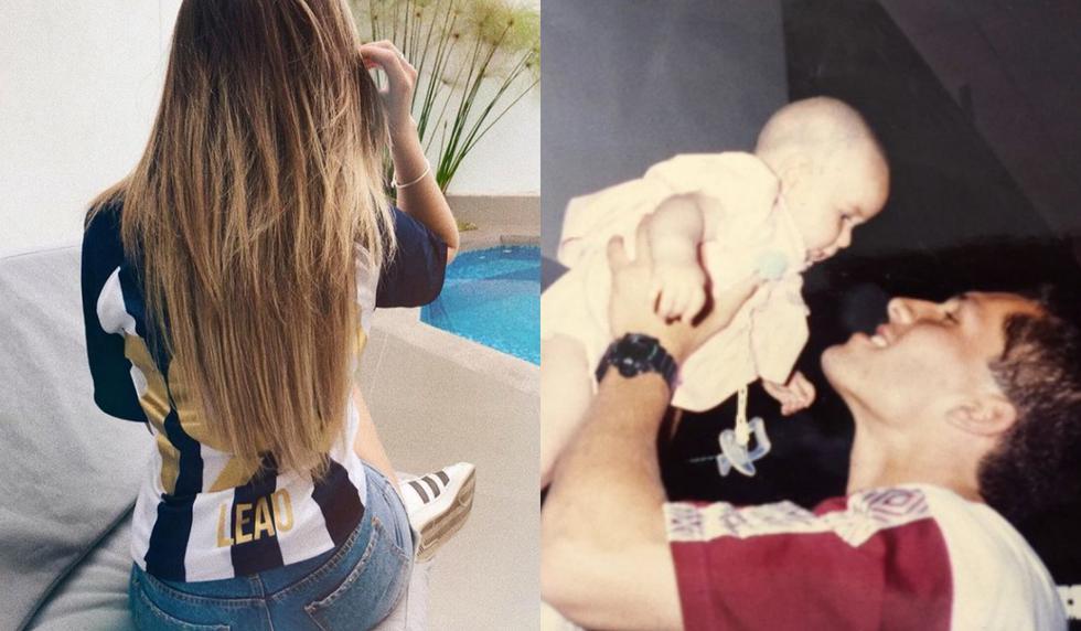 Daniela Butrón envió un afectuoso saludo a su progenitor a través de sus redes sociales. (Instagram)