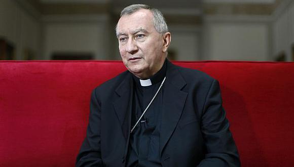 Pietro Parolin no estuvo presente en la posesión de cargo. (Reuters)