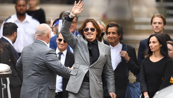 No es la primera que extraños ingresan a la casa de Johnny Depp en Los Ángeles . (Foto: DANIEL LEAL-OLIVAS / AFP)