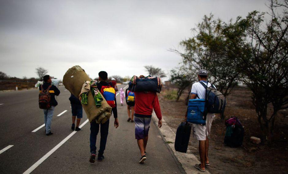 En los últimos dos años han pasado por Ecuador más de un millón de migrantes venezolanos. (Foto: AFP)