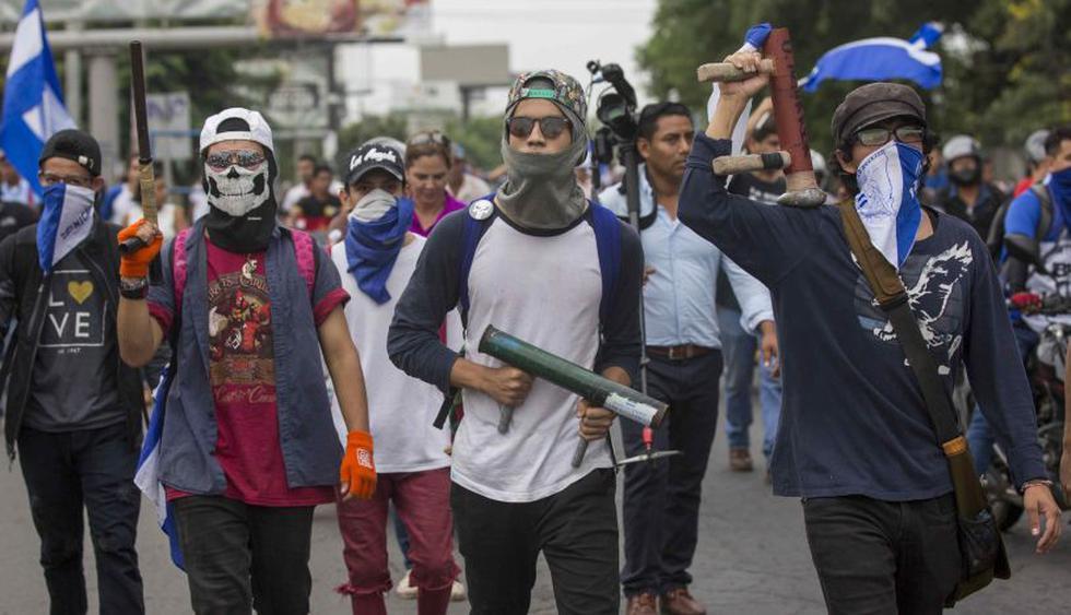 Nicaragua cumple 100 días de sangrienta crisis sin perspectivas de acuerdo. (Foto: EFE)