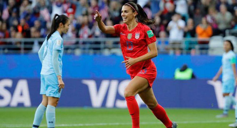 Alex Morgan juega en Francia 2019 su tercer Mundial tras sus participaciones en las ediciones 2015 y 2011. (Foto: AFP)