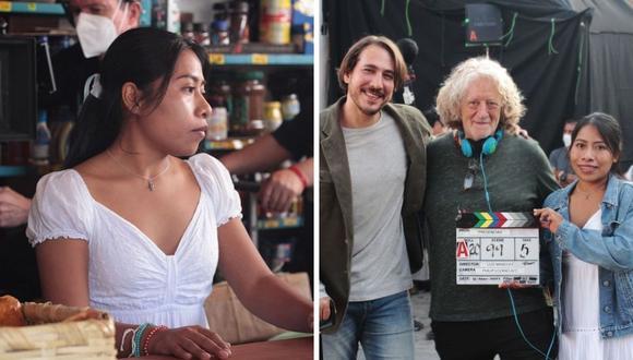 """Yalitza Aparicio se dejó ver en las grabaciones de su nueva película """"Presencias"""". (Foto: Instagram / @presenciaspelicula)."""