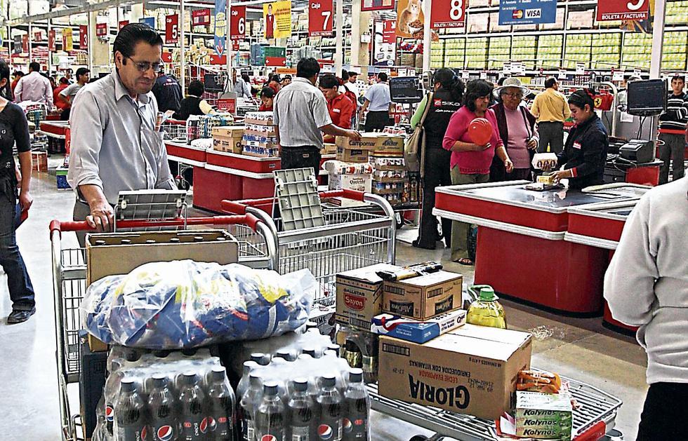 Proyección. El consumo privado aumentaría 3.3% en abril-junio. (USI)