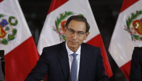 El presidente Martín Vizcarra viajó a Portugal y España para cumplir con visitas de Estado. (Foto: GEC)