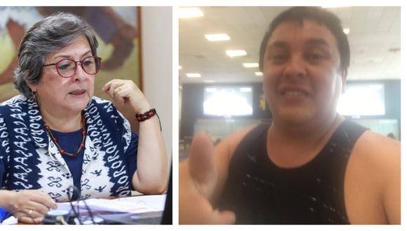 Sonia Guillén dice que Richard Swing fue quien originó su renuncia.