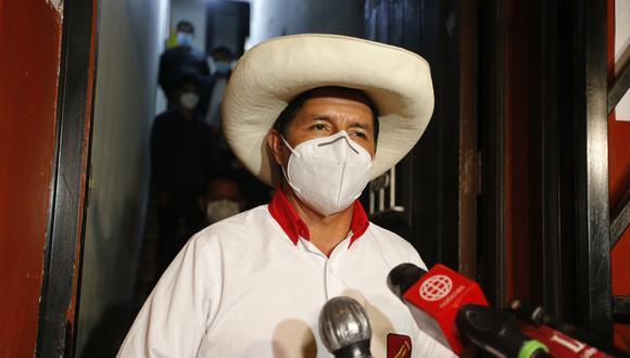 """""""Basta de equipos técnicos, los equipos técnicos son parte del pasado, parte de la repartija. """", señaló Pedro Castillo. (Foto: Archivo/GEC"""