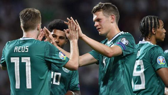 Alemania vs. Estonia: chocan por el Grupo C de las Eliminatorias rumbo a la Eurocopa 2020. (Foto: @DFB_Team_ES)