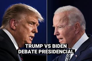 Debate Trump vs Biden: Así fue el enfrentamiento entre los aspirantes a la Casa Blanca