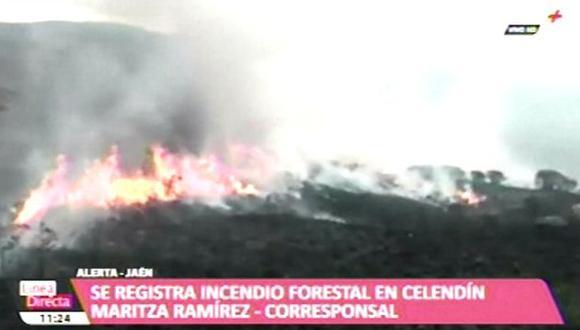 Hay mucha preocupación por incendios forestales. (Foto: Captura/ATV+)