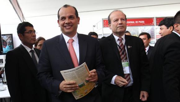 EN MARCHA. Castilla y Rodríguez presentaron proyectos. (USI)