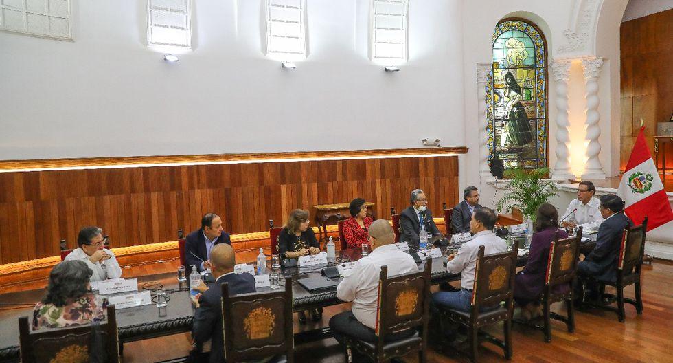 Martín Vizcarra encabezó el denominado Consejo de Estado. (Foto: GEC)