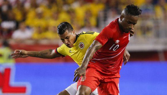 Las selecciones de Perú y Colombia se reencontrarán el 10 de octubre por las Eliminatorias Rusia 2018. (EFE)