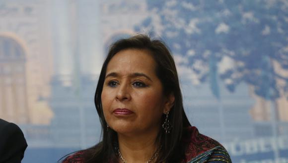 Nidia Vílchez fue ministra de la Mujer y Desarrollo Social y ministra de Vivienda, Construcción y Saneamiento durante el segundo Gobierno de Alan García. (Foto: Mario Zapata)