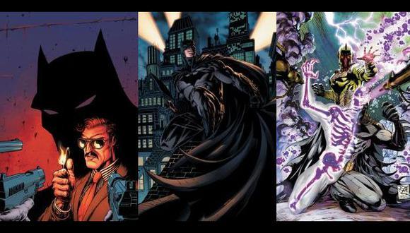 De der a izq: Batman Incorporated #3, Batman The Dark Knight #11 y Detective Comic #12 Imágenes: dccomics.com