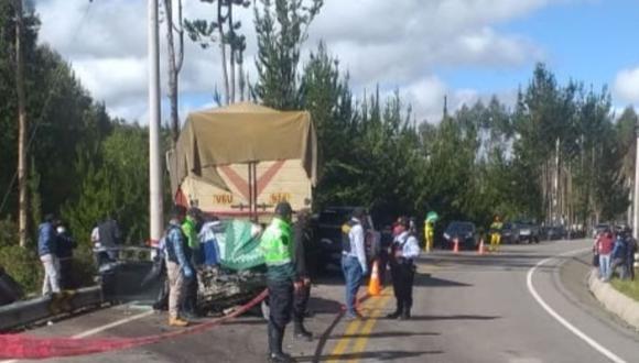 Cusco: el accidente se registró a la altura del kilómetro 67 de la carretera Interoceánica, en la provincia cusqueña de Quispicanchi. (Foto: Difusión)