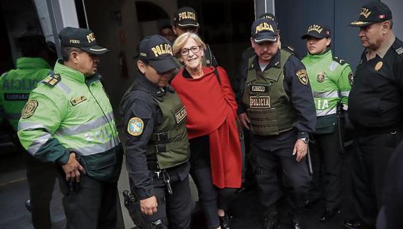 Susana Villarán es investigada por recibir aportes irregulares de empresas brasileñas para financiar campañas políticas. (GEC)