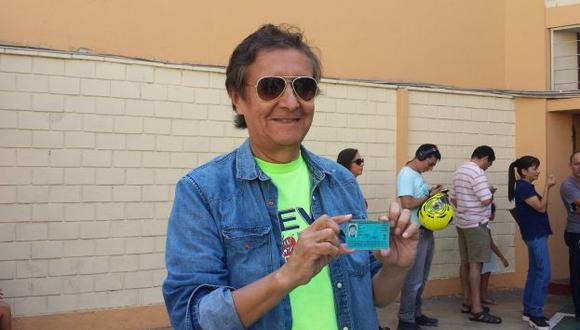 """Van a traer a Elmer Alfaro ('Machucao'), Aurora Aranda y a actores extranjeros para mi película"", dijo. (USI)"
