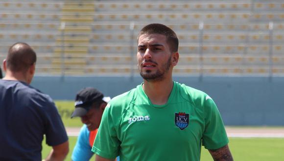 Cedrón tentará el ascenso a la primera división del fútbol brasileño con la camiseta de su nuevo club. (USI)