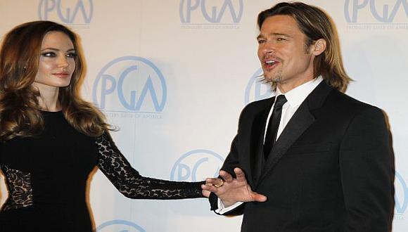 La pareja durante una gala en California. (Reuters)