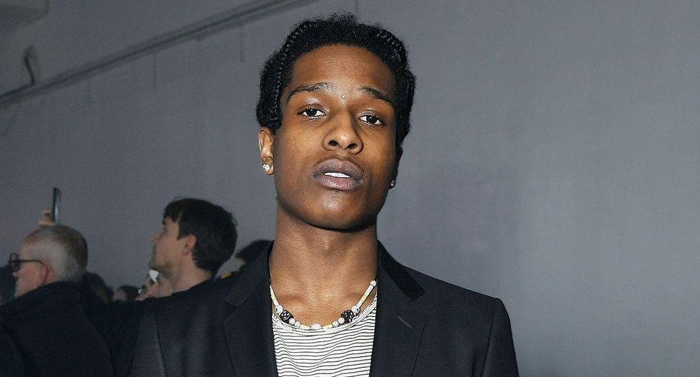 A$AP Rocky conocerá el fallo del tribuna sueco en libertad. (Foto: AFP)