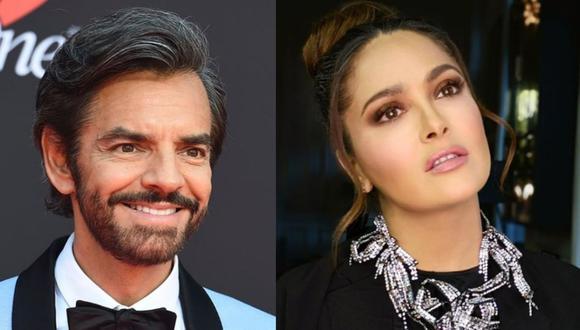 Los actores mexicanos tienen muchas cosas en común, una de ellas la fecha de cumpleaños (Foto: Eugenio Derbez / Salma Hayek / Instagram)