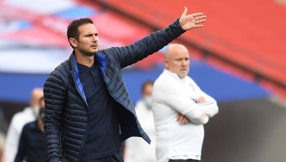Chelsea despidió a Frank Lampard por malos resultados. (Foto: AFP)