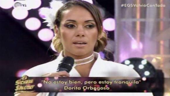 Dorita Orbegoso contó su verdad sobre su supuesto video íntimo. (América Televisión)