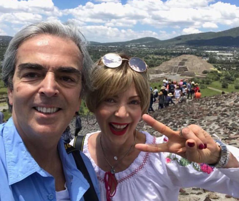 Lorenzo Lazo fue el apoyo incondicional de la actriz. (Foto: Instagram @lazomargain)