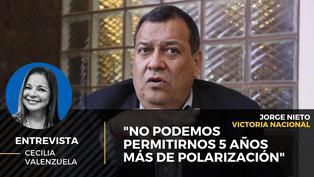 """Jorge Nieto candidato de Victoria Nacional: """"No podemos permitirnos 5 años más de polarización"""""""