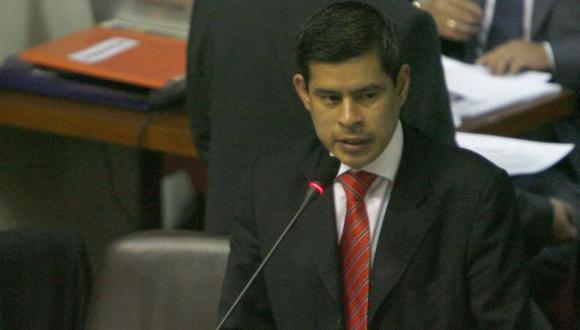 Luis Galarreta advierte riesgo. (César Fajardo)