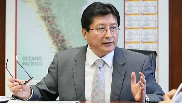Viceministro de Minas, Guillermo Shinno. (Gestión)