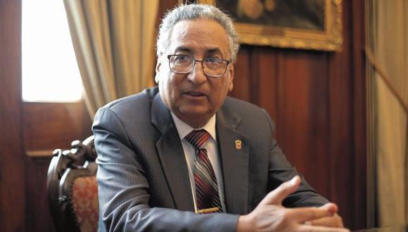 José Lecaros fue designado titular del PJ en medio del escándalo de los audios de la corrupción. (GEC)