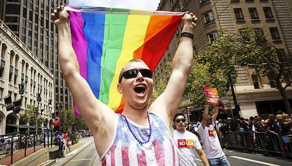 Hasta hace unas semanas el matrimonio gay estaba prohibido en 13 estados de EEUU. (AP)