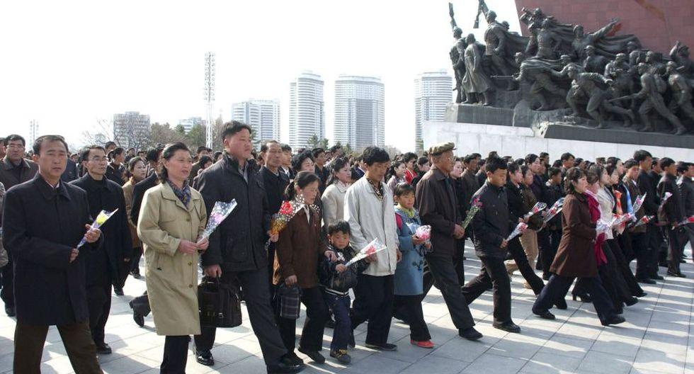 Corea del Norte es un país caracterizado por el extremo culto a la personalidad de sus dirigentes. (AP)