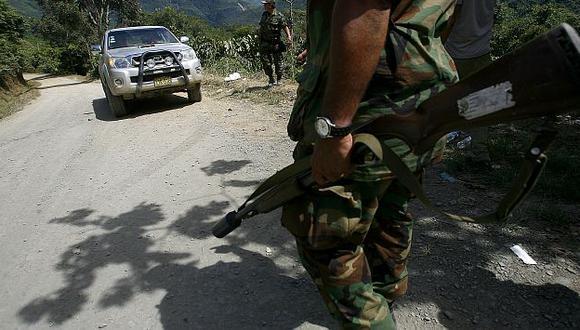 Premier dice que militares habrían respondido a un disparo que provino del vehículo afectado. (USI)