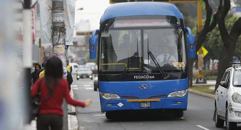 Usuario del servicio de transporte denunció ser víctima de acoso por parte de otro pasajero. (Foto: GEC)
