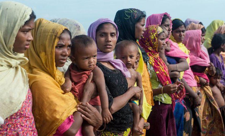 La comitiva, coordinada por la organización sin ánimo de lucro Avaaz, contó con la presencia de dos líderes de la minoría rohinyá de Myanmar. (Foto referencial: AFP)