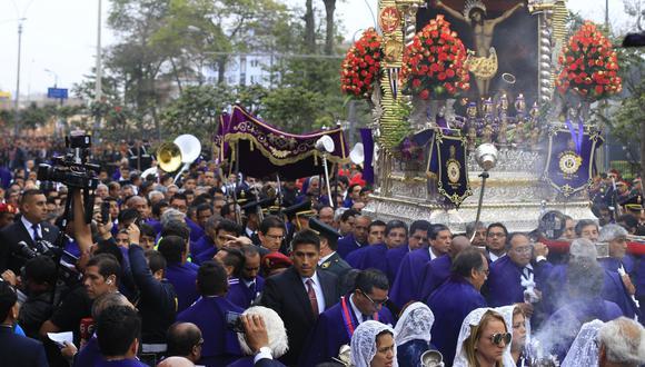 Imagen del Señor de Los Milagros no ingresará al hospital Loayza. (Foto: El Comercio)