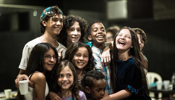 El elenco de 'Billy Elliot' han recibido clases de ballet, tap y canto para esta puesta en escena (Difusión).