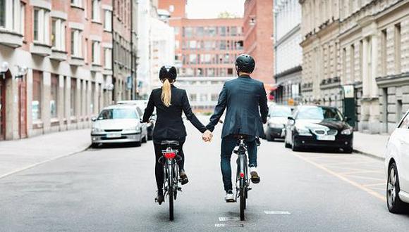 Ciclista malcriado. (Getty Images)