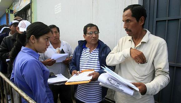 Medida busca reducir las colas registradas en los últimos días. (Andina)