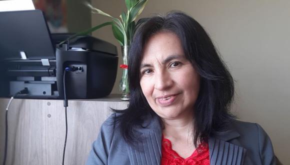 Ana María Córdova es personera legal titular de Perú Libre, el partido que postula a Pedro Castillo a la presidencia. (Foto: Ana María Córdova / Facebook)